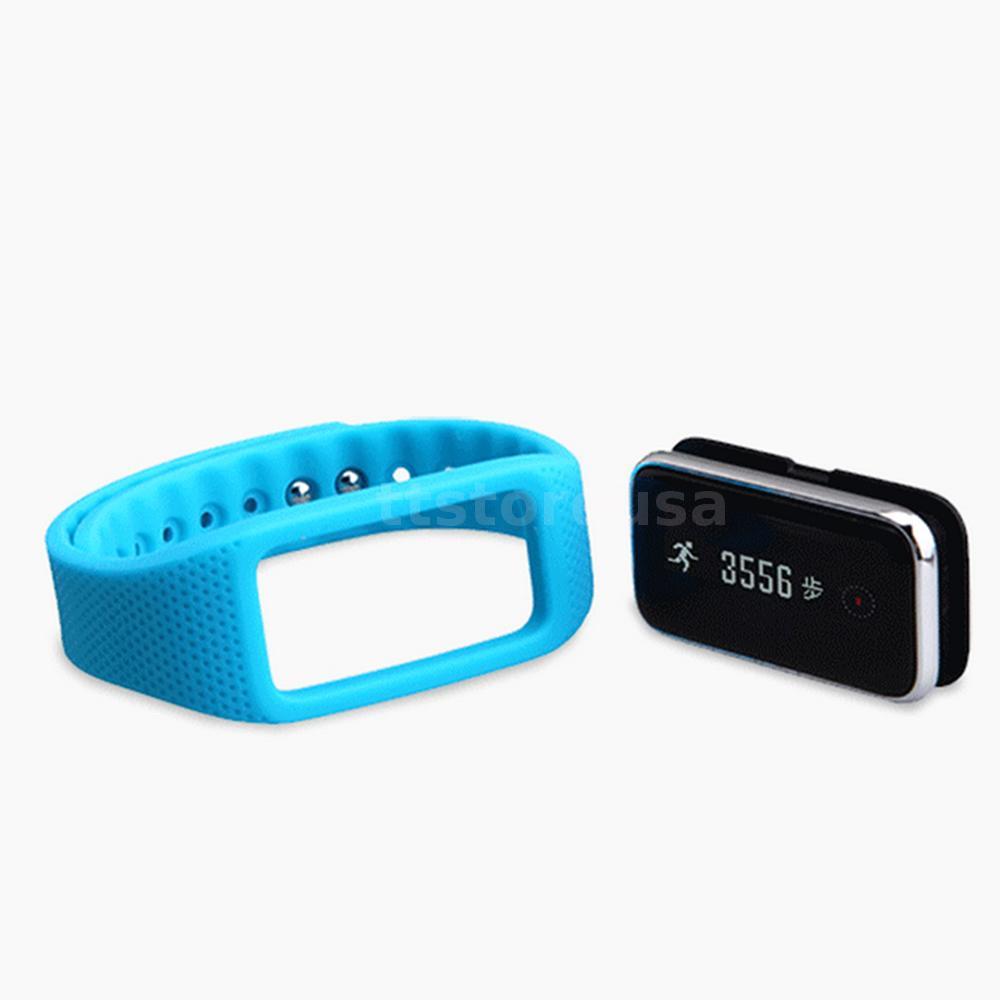 blau wanka k1 mini bluetooth bt4 0 sport armband 0 69 oled pedometer monitor de ebay. Black Bedroom Furniture Sets. Home Design Ideas