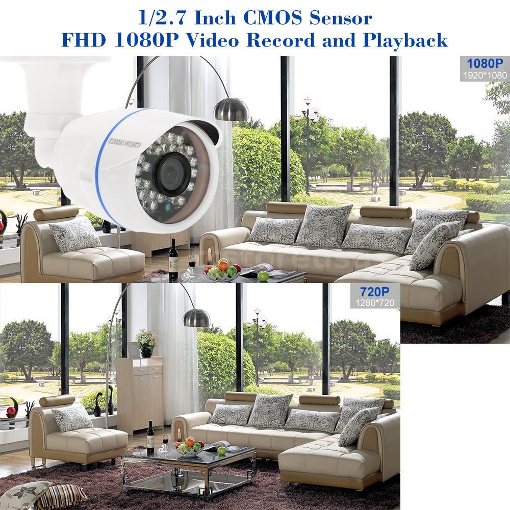 Owsoo 16ch 1080p P2p Nvr 16pcs 1080p Bullet Ip Camera Kit