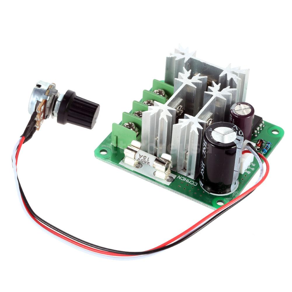 Ccmhcn Dc 6v 90v Adjustable Pwm Dc Motor Speed Controller
