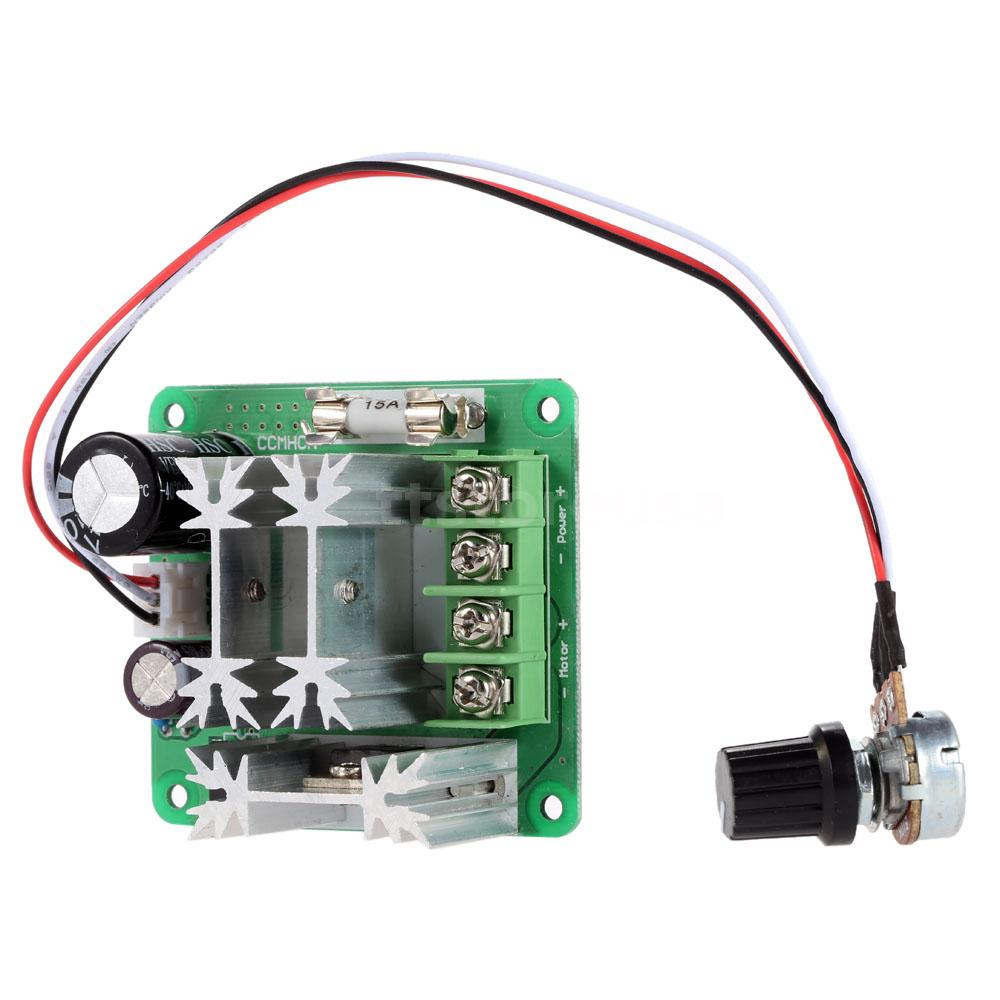 Ccmhcn dc 6v 90v adjustable pwm dc motor speed controller for Speed control electric motor