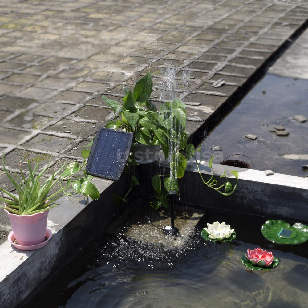 Small Type Landscape Pool Garden Fountains Solar Power