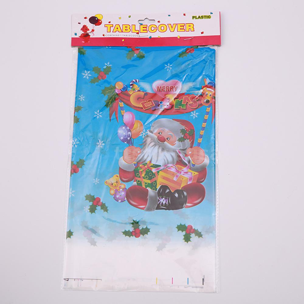 1.1 * 1.8m christmas style printed pattern rectangular tablecloth