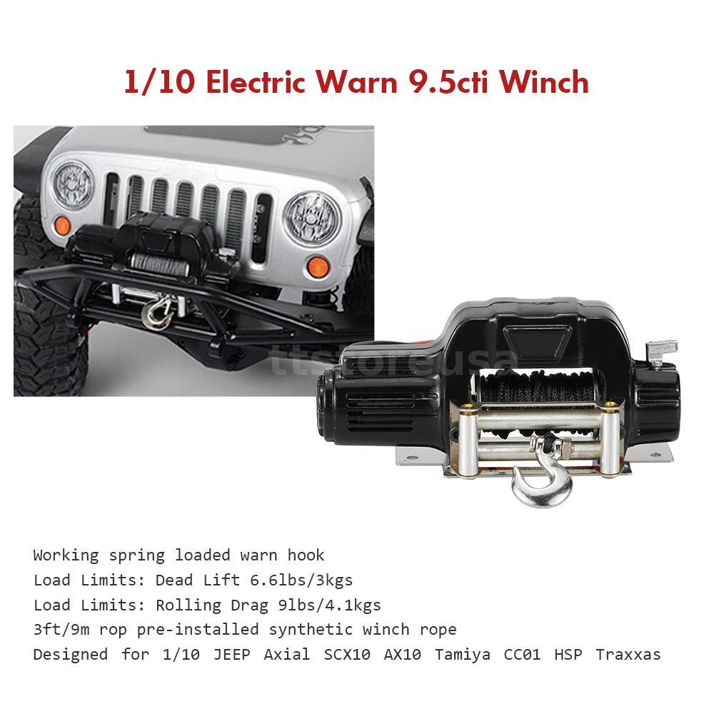 1 10 Mini Cheap Electric Warn 9 5cti Winch For Rc 1 10 Car Rock